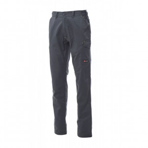 PAYPER COTTON TWILL/POLYESTER WORK TROUSER – WORKER PRO - Size L Smoke