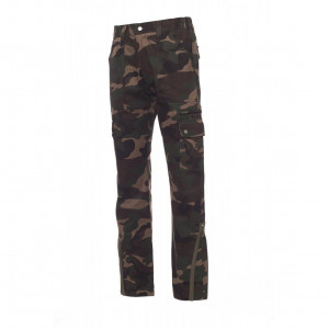 PAYPER COTTON TWILL TROUSERS – USAIR - Size S Camouflage