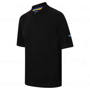 GOODYEAR POLO SHIRT BLACK GYTS022 - Size L Black
