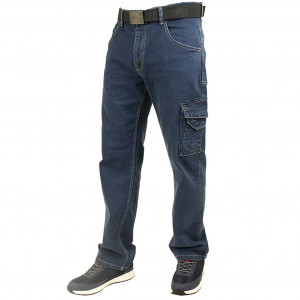 LEE COOPER MULTI POCKET STRETCH DENIM JEAN LCPNT239 - Size 28 Jeans Denim