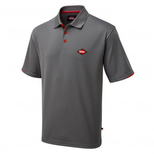 LEE COOPER PERFOMANCE POLO COOL PASS LCTS017 - Size L Grey