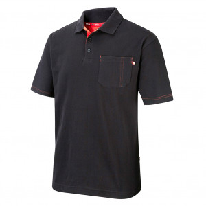 LEE COOPER POLO SHIRT LCTS011 - Size XXL Black