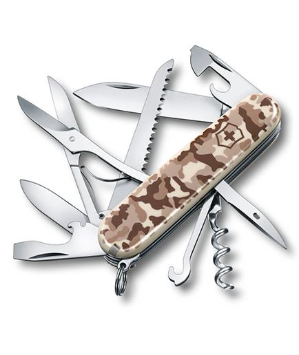 SWISS ARMY KNIFE 91mm HUNTSMAN DESERT CAMOUFLAGE