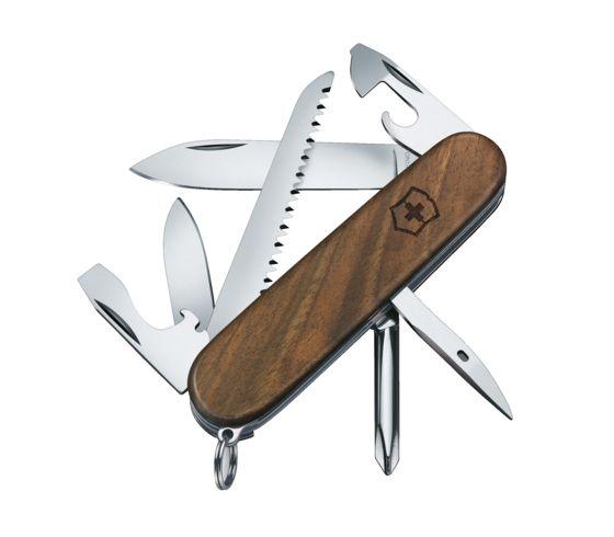 SWISS ARMY KNIFE 91mm HIKER WOOD