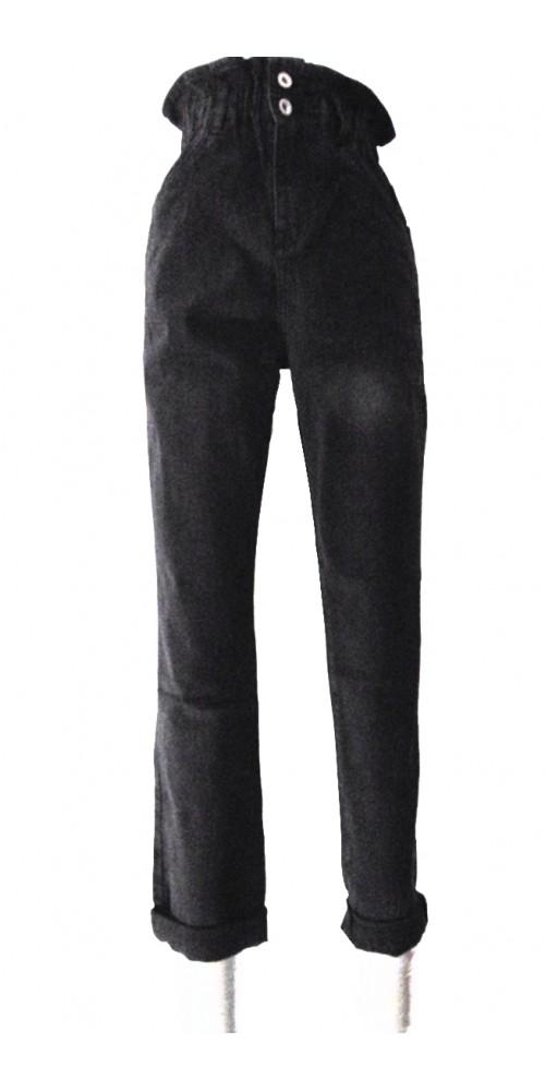 Black Women's  Jeans - L