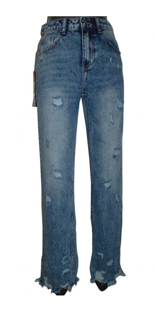 Frayed Women's  Jeans - L
