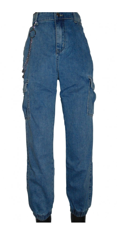 Baggy Women's Jeans - L
