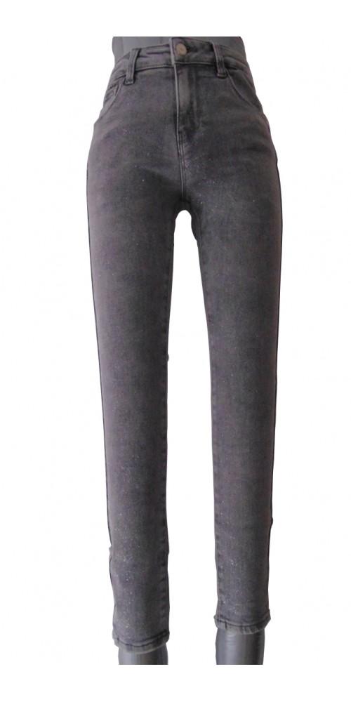 Women's  Glitter Jeans - L