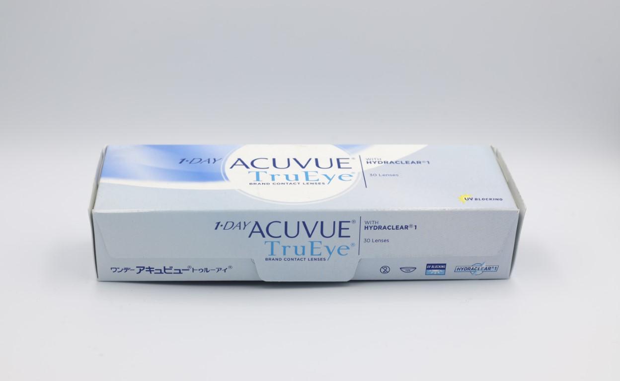 -1.00 Acuvue TruEye with Hydraclear 30 lenses/box