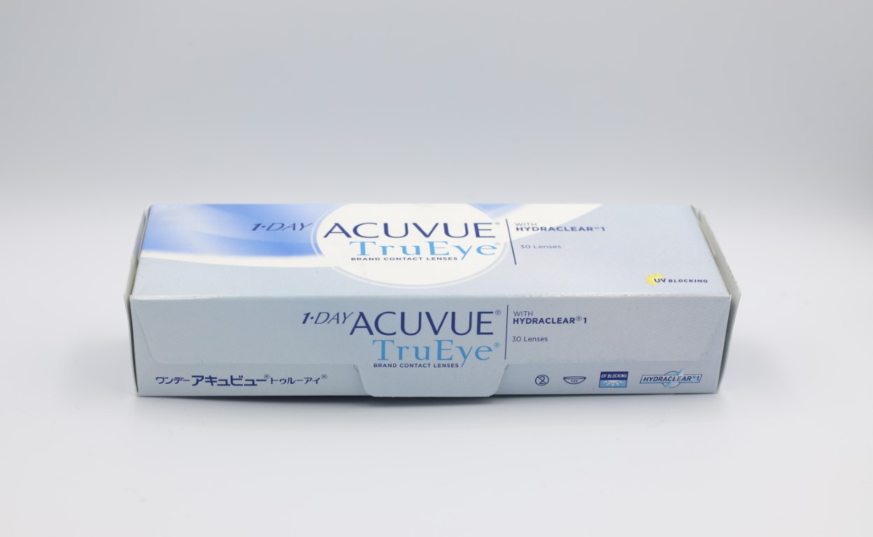 -7.50 Acuvue TruEye with Hydraclear 30 lenses/box
