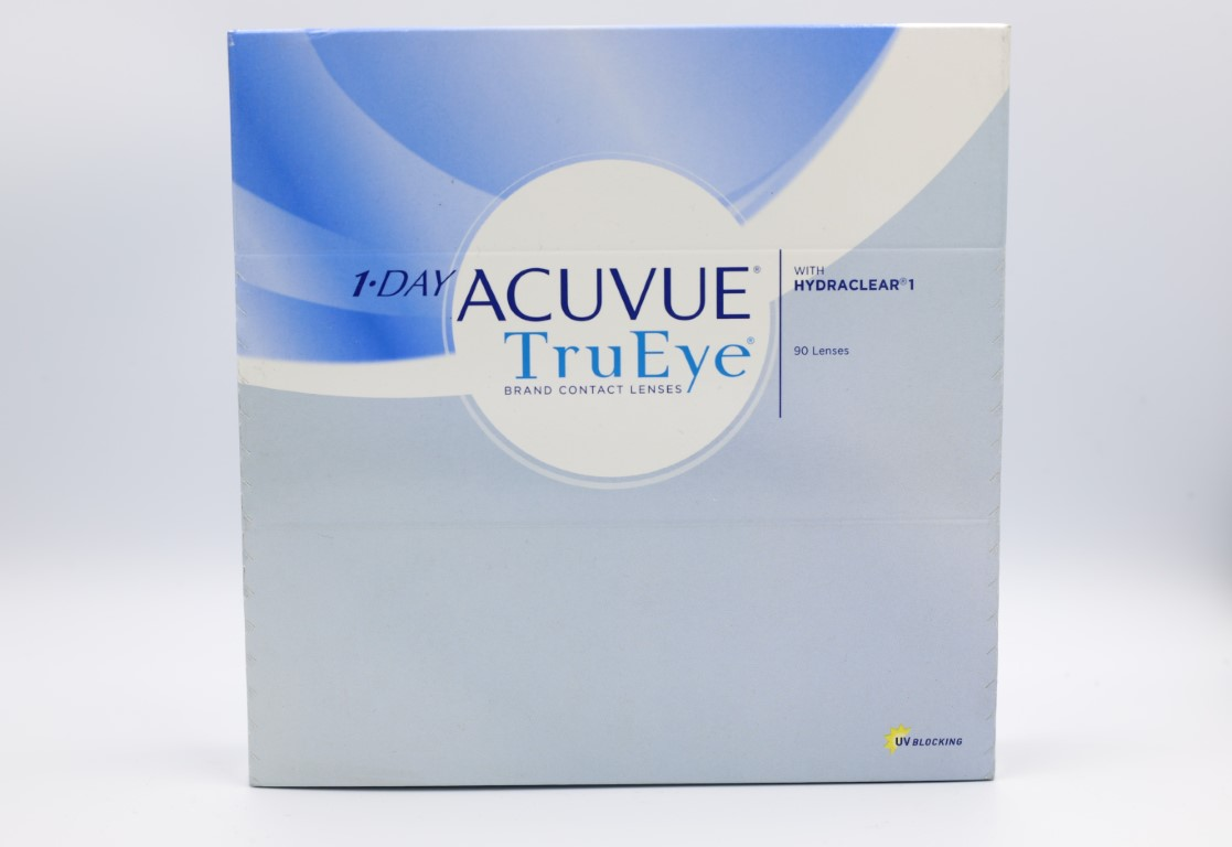 -4.00 Acuvue TruEye with Hydraclear 90 lenses/box