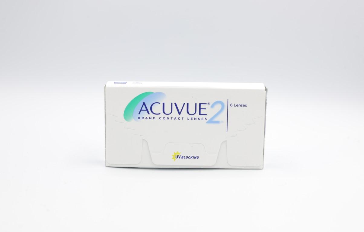 -6.50 Acuvue 2 6 lenses/box