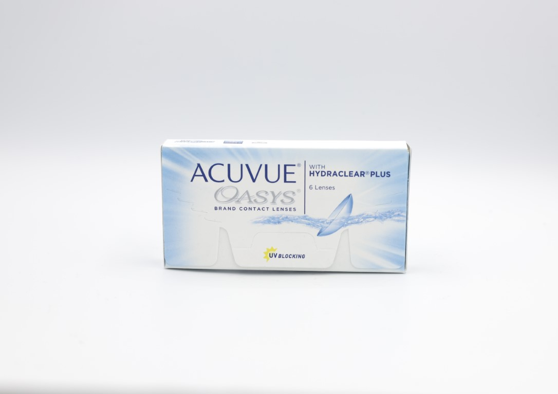-4.00 Acuvue Oasys with Hydraclear Plus 6 lenses/box