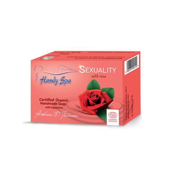 SEXUALITY Soap with Rose