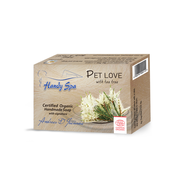 PET LOVE Soap with Tea Tree