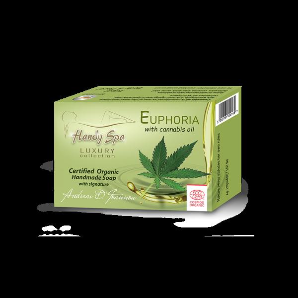 EUPHORIA Soap with Hemp Oil