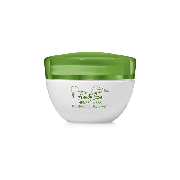 Moisturizing Day Cream with Hemp Seed Oil and Hyaluronic Acid
