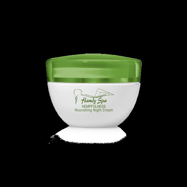 Nourishing Night Cream with Hemp Seed Oil and Hyaluronic Acid