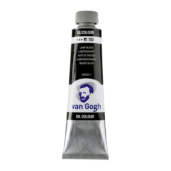 Van Gogh Oil Colour 40 ml Lamp Black 702