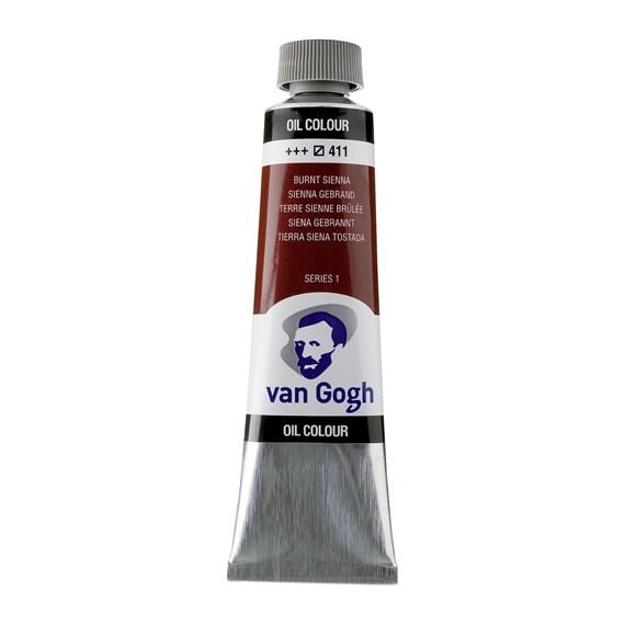 Van Gogh Oil Colour 40 ml Burnt Sienna 411
