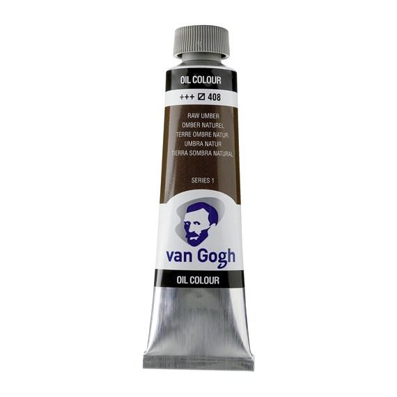 Van Gogh Oil Colour 40 ml Raw Umber 408