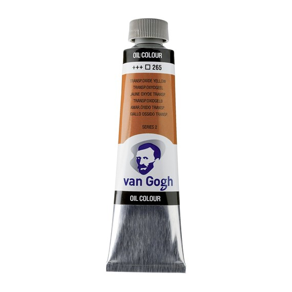 Van Gogh Oil Colour 40 ml Transparent Oxide Yellow 265