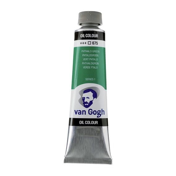 Van Gogh Oil Colour 40 ml Phthalo Green 675