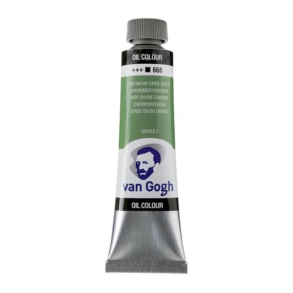 Van Gogh Oil Colour 40 ml Chromium Oxide Green 668