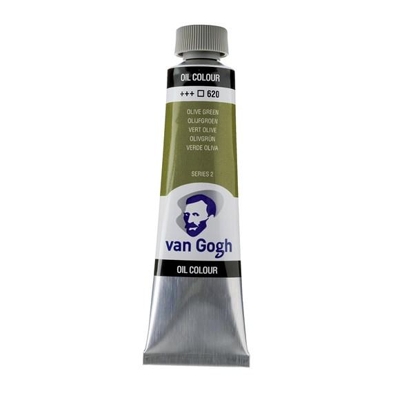 Van Gogh Oil Colour 40 ml Olive Green 620