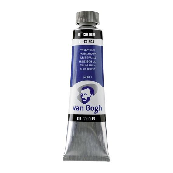 Van Gogh Oil Colour 40 ml Prussian Blue 508