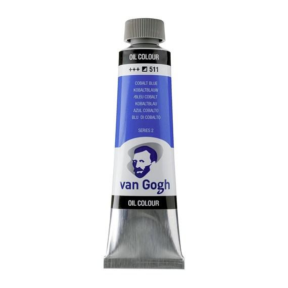 Van Gogh Oil Colour 40 ml Cobalt Blue Ultramarine 512