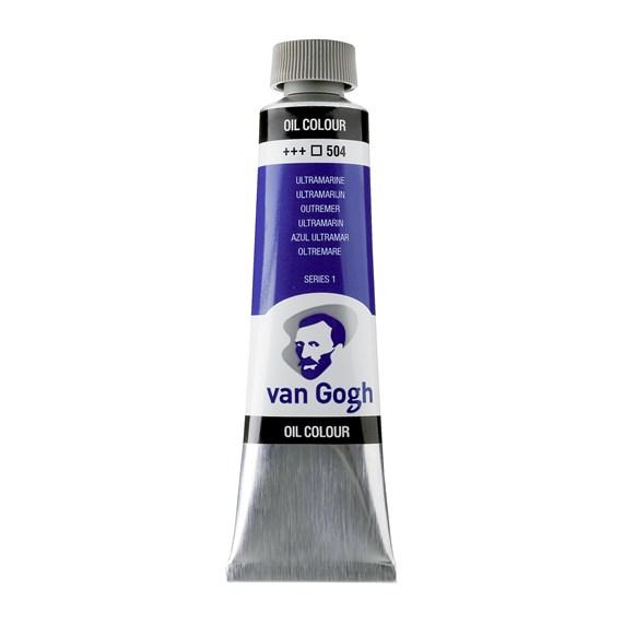 Van Gogh Oil Colour 40 ml Ultramarine 504