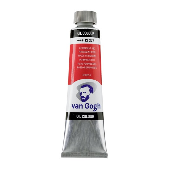 Van Gogh Oil Colour 40 ml Permanent Red 372