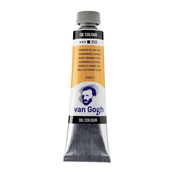 Van Gogh Oil Colour 40 ml Cadmium Yellow Deep 210