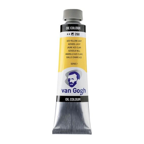 Van Gogh Oil Colour 40 ml Azo Yellow Light 268