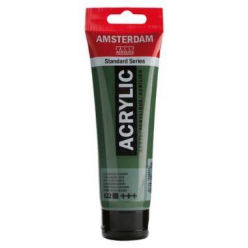 Amsterdam Acrylic Paint 120ml Sap Green