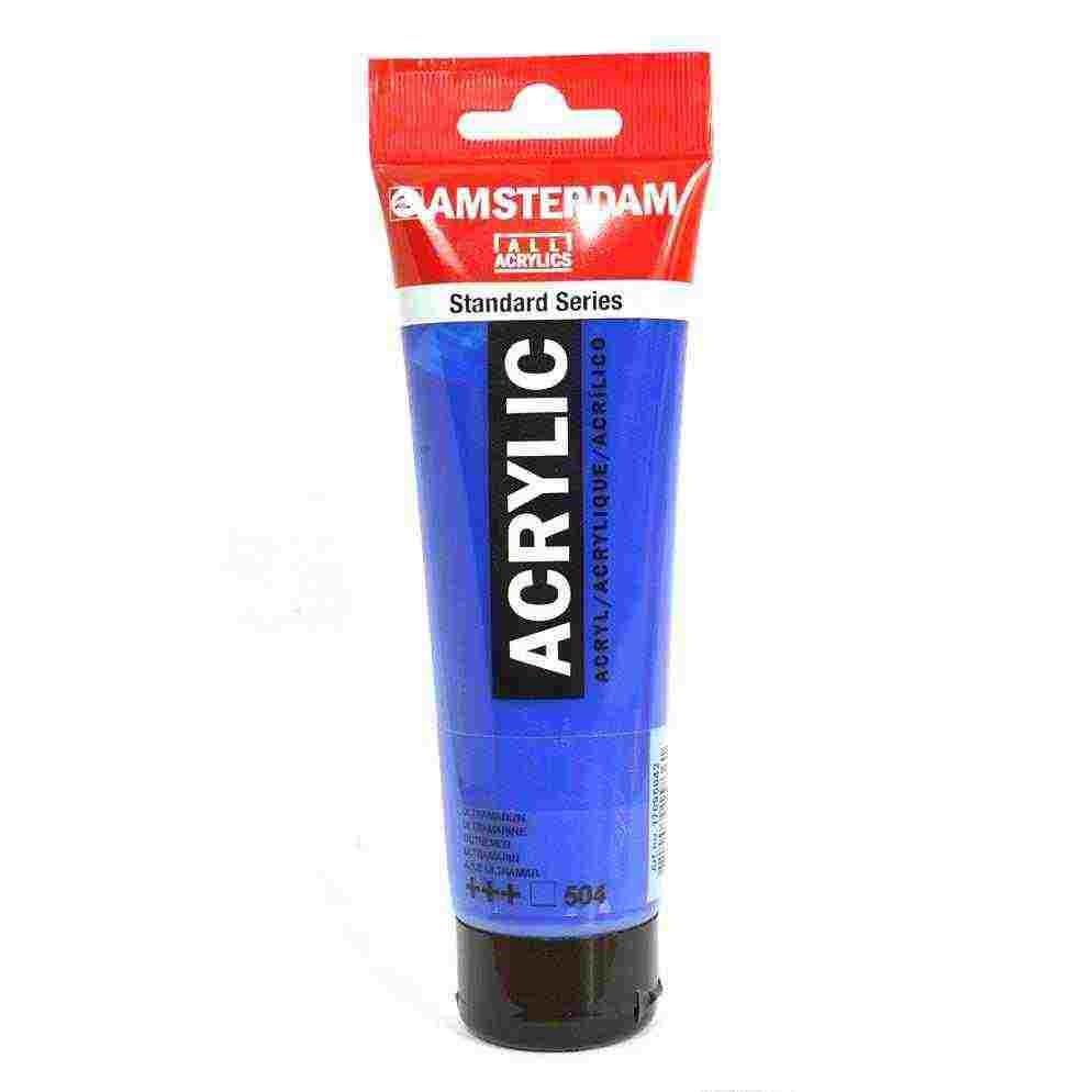 Amsterdam Acrylic Paint 120ml Ultramarine