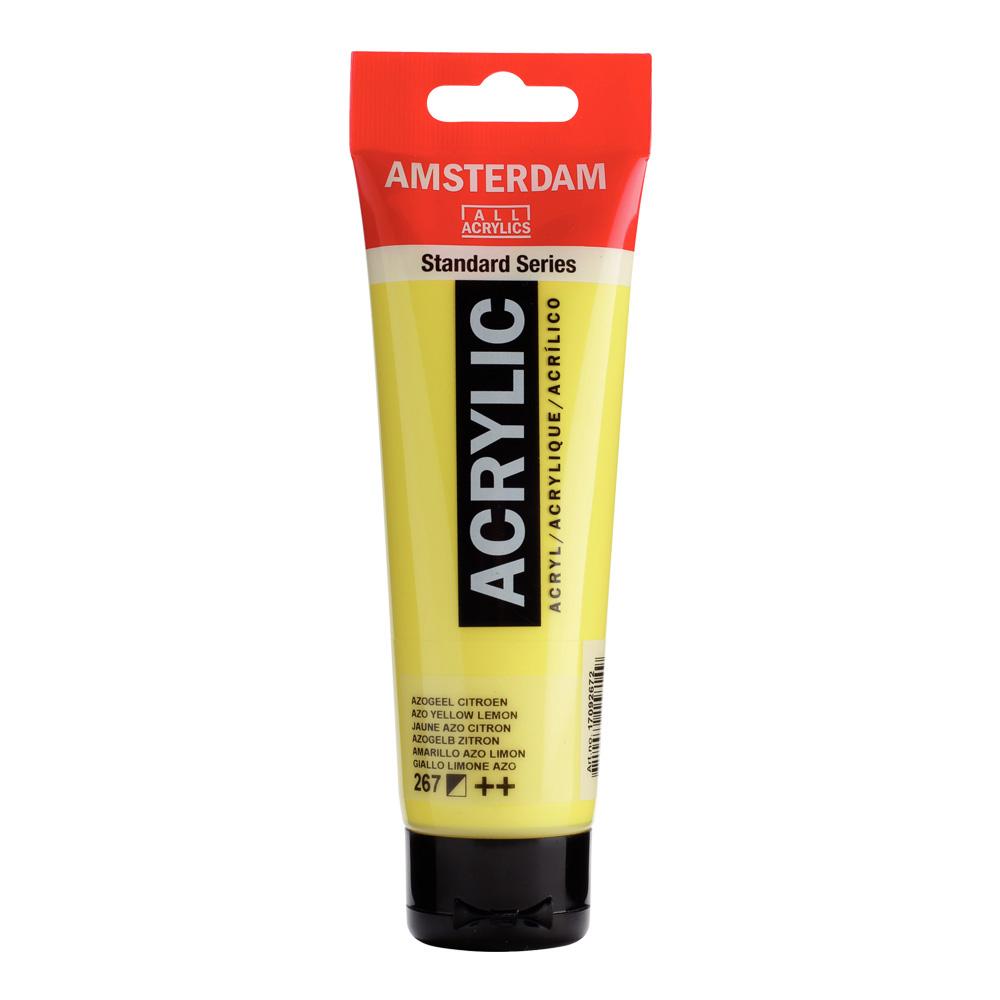 Amsterdam Acrylic Paint 120ml Azo Yellow Lemon