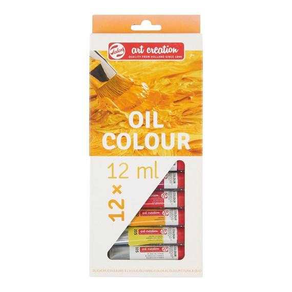 Oil Colour Set 12 Colours