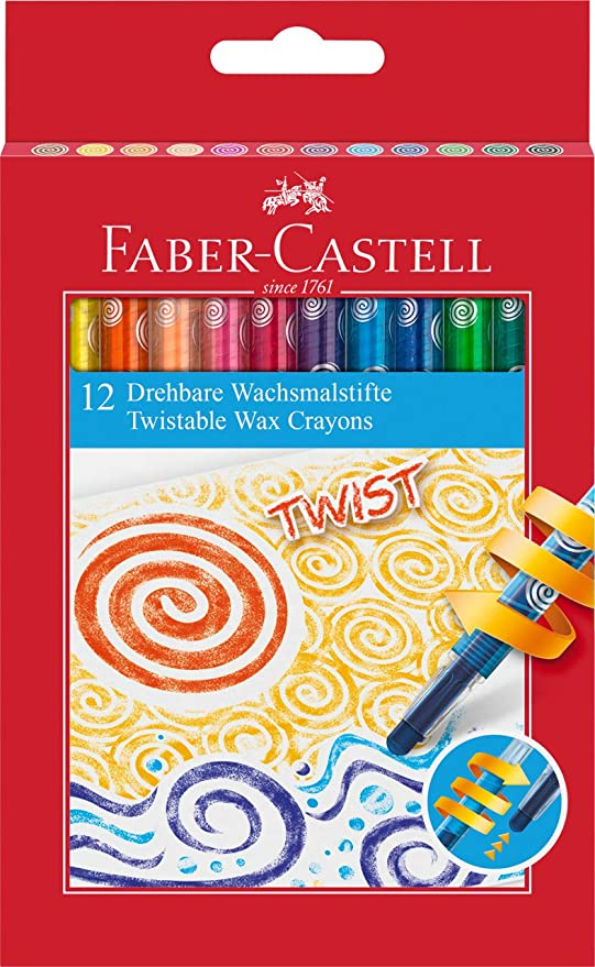 Twistable Wax Crayons / Faber-Castell