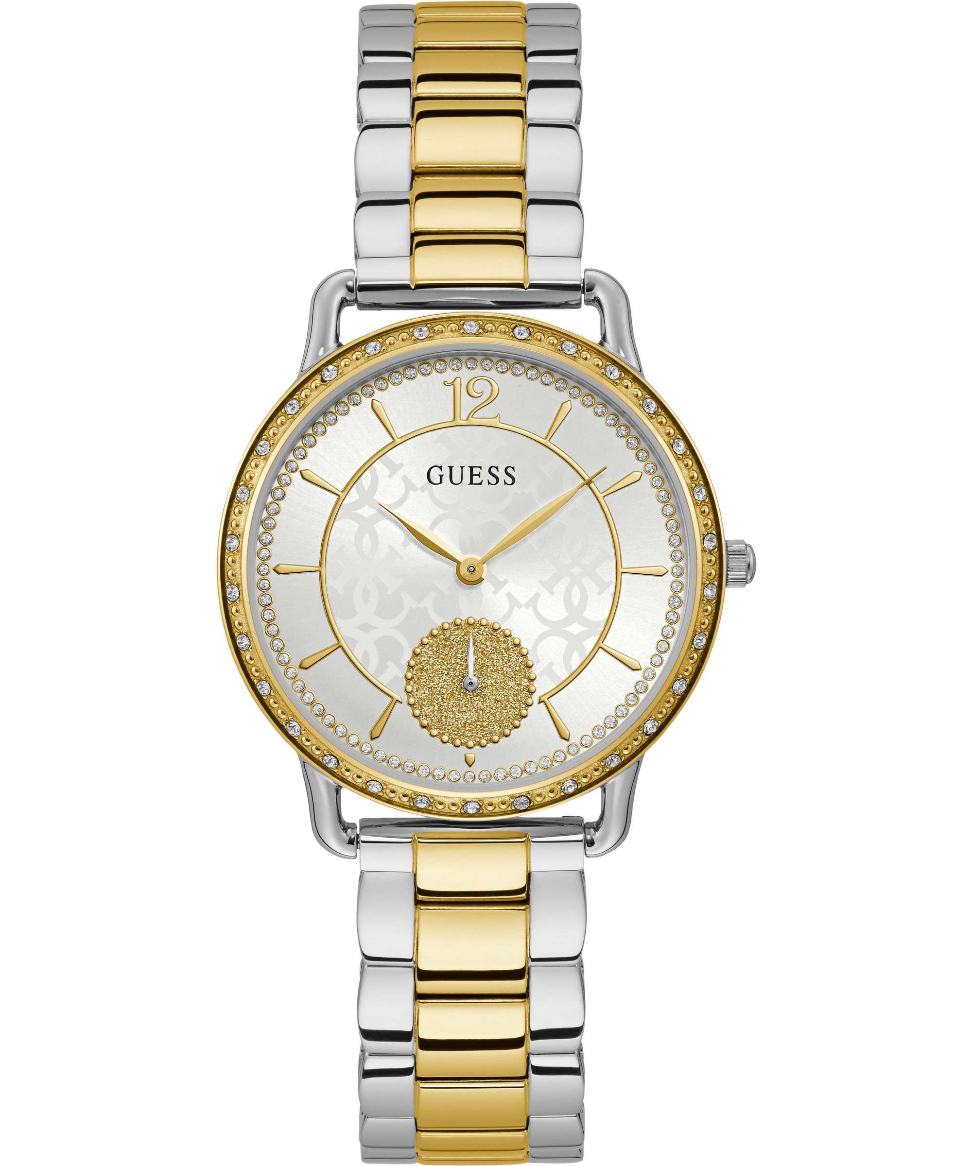 GUESS ASTRAL TWO TONE GOLD