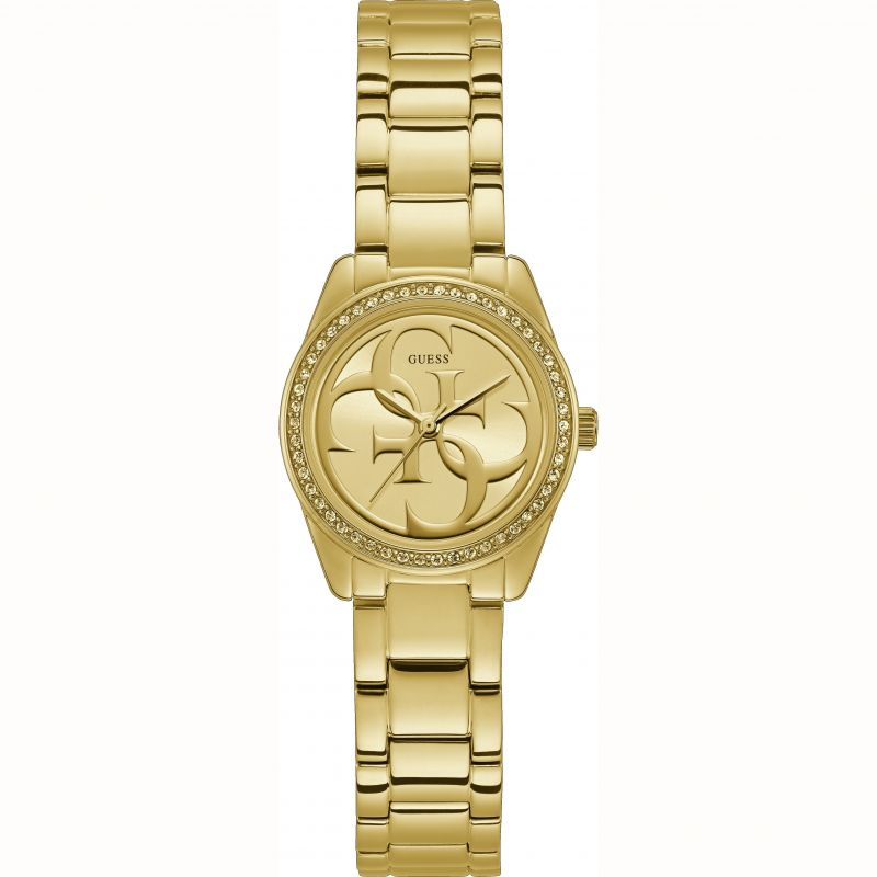 GUESS MICRO G TWIST  STONES GOLD