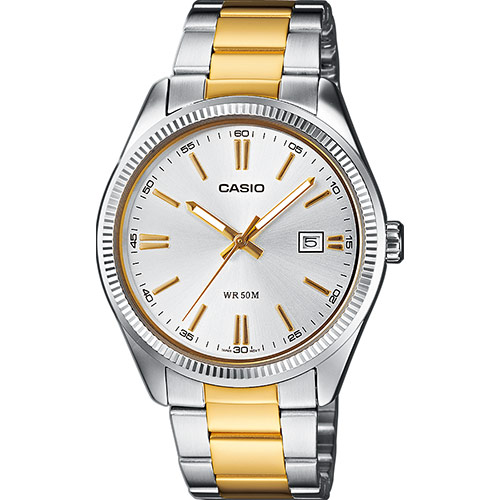 CASIO MTP TWO TONE GOLD