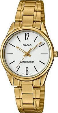 CASIO MTP GOLD WHITE DIAL