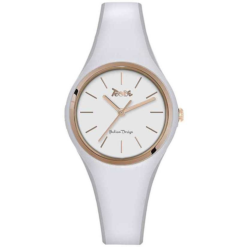 TOOBE LADY WHITE AND ROSEGOLD DIAL