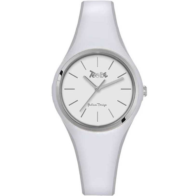 TOOBE LADY WHITE AND SILVER DIAL