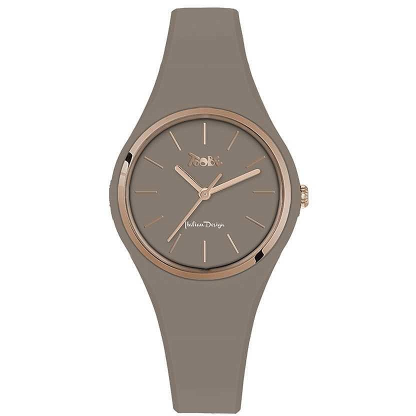 TOOBE LADY BEIGE AND ROSEGOLD DIAL