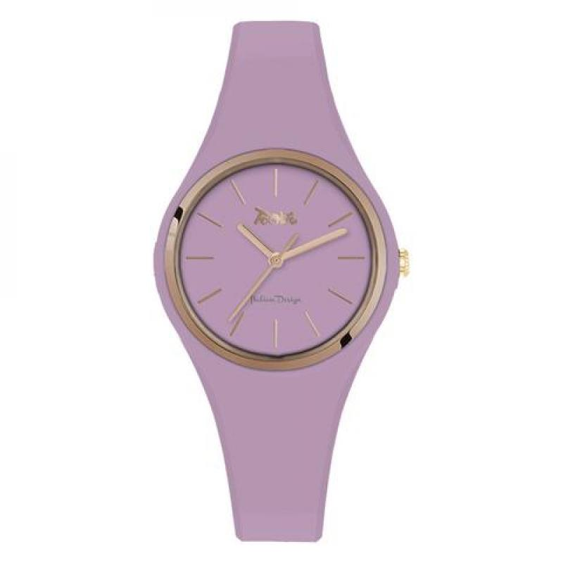 TOOBE LADY PURPLE AND ROSEGOLD DIAL
