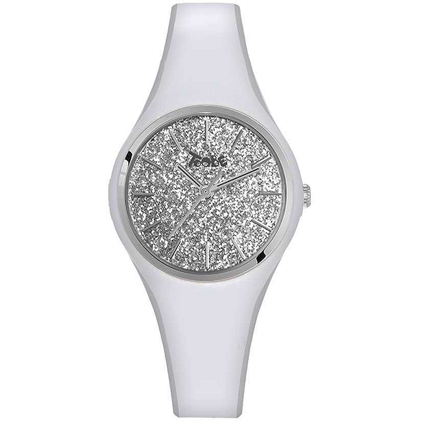 TOOBE LADY  WHITE WITH GLITTERY DIAL