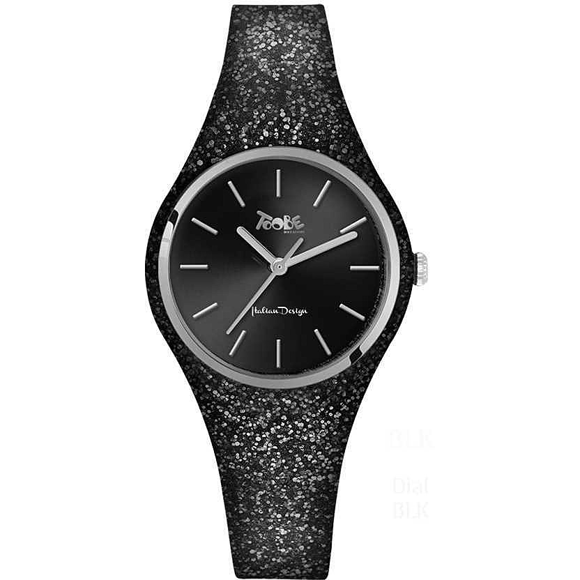 TOOBE LADY  BLACK WITH GLITTERY  STRAP
